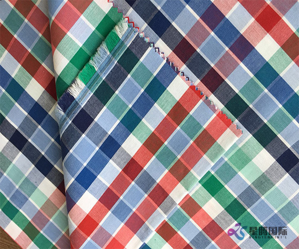 Pretty Plaid Cotton Textile