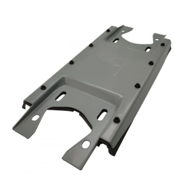Industrial sheet metal parts for cable cabinets