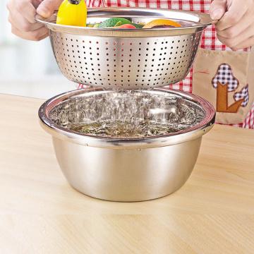 Design Rice Washer Strainer Colanders for Cleaning Vegetable Fruit Pasta