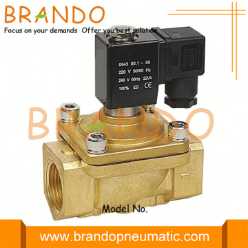 Shako Type 1'' Brass Electrical Water Solenoid Valve