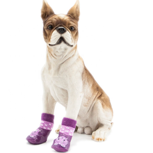 Anti Slip Dog Printed Socks