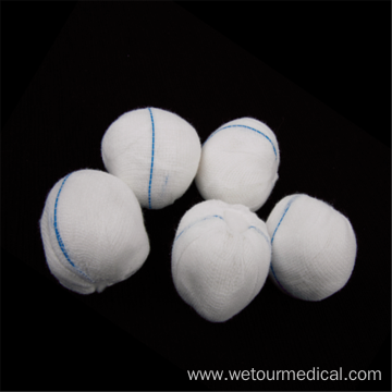 Wholesale Customized Medical Sterile Non Woven Gauze Ball