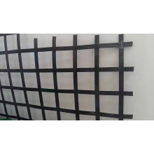 Extrusion and Welding Steel Plastic Geogrid