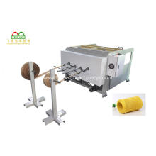 Two Heads Paper Rope Producing Machine