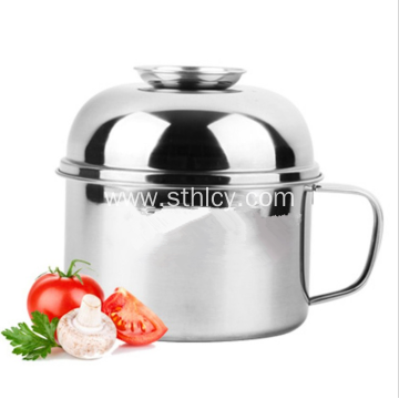 201 Stainless Steel Bowl With Handle And Lid