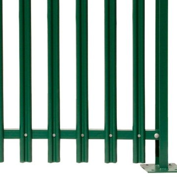 customized color palisade Kenya palisade fencing