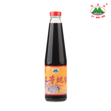 Oyster Sauce 500g Glass Bottle