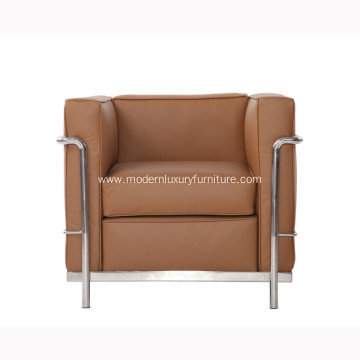 Le Corbusier LC2 Leather Sofa Reproduction