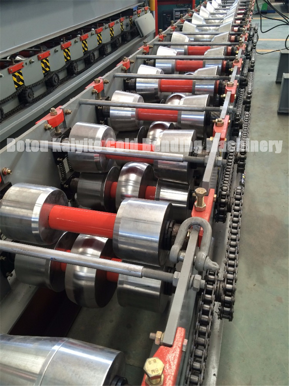 Metal Roofing Top Ridge Cap Roll Forming Machine
