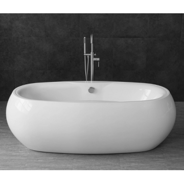 Freestanding Oval Acrylic Bathtubs