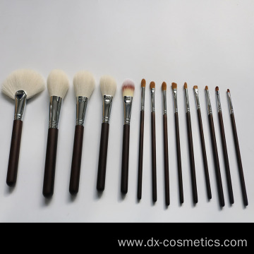 14Pcs Luxury high quality makeup brushes Goat Hair