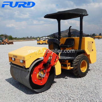 3 Ton Single Drum Mini Vibratory Road Roller