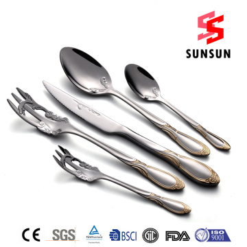 18/0 Exquisite stainless steel Tableware