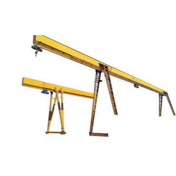 Hot selling single girder gantry crane 15 ton