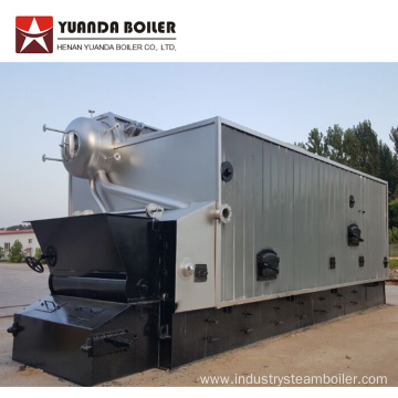 6 ton Water Tube Wood Pellet Fired Boiler