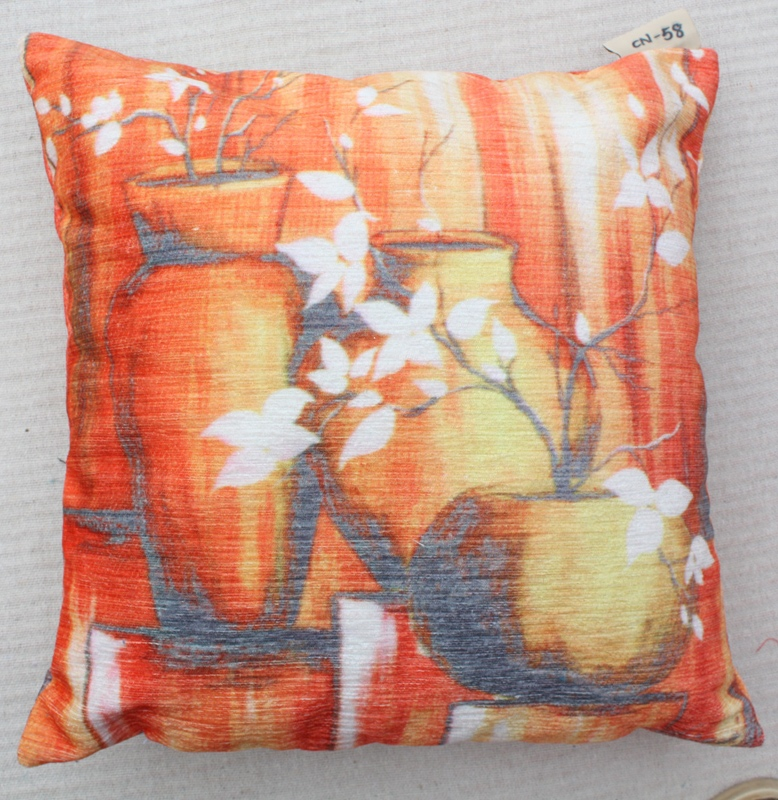 Polyester Printed Cushion with Design