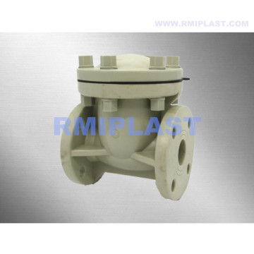 PP Swing Check Valve Flange End ANSI CL150