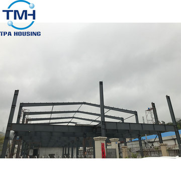 building pre-engineered fabricated steel warehouse/workshop