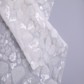 Fashion Stone Sequin On Poly Mesh Embroidery Fabric
