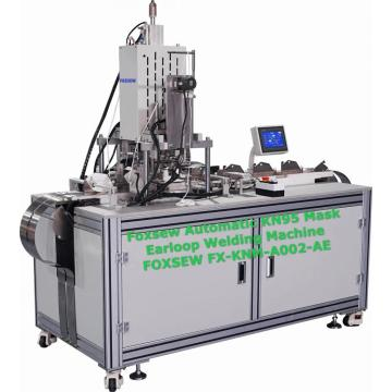 Automatic KN95 Mask Earloop Welding Machine