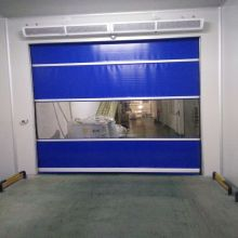 Automatic Radar PVC Roller Shutter Speed ​​Door