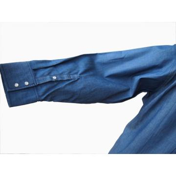 Fireproof Denim Shirt For Worker Protection