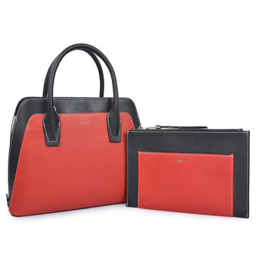 Female Classic Tote Bags Large Trunk Business Bag
