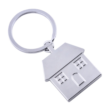 Newly Innovate House Shape Design Metal Key Chains