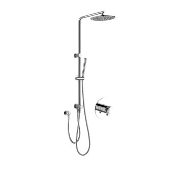 Shower Set System with Overhead Shower