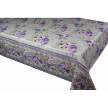 Elegant Tablecloth with Non woven backing 2 Inch