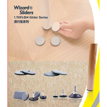 Furniture products sliding felt pads