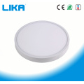 7W Integrated Rimless Round Surface Mounted Panel Light