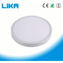 15W Integrated Rimless Round Surface Mounted Panel Light