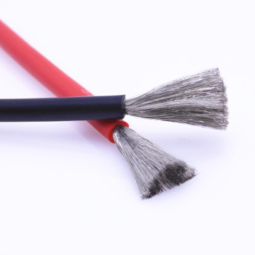 1 meter black + 1 meter red silicone wire 10AWG 8AWG 7AWG 6AWG heat resistant soft silicone wire