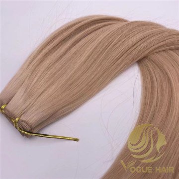 Large customized #22 hand tied weft hair