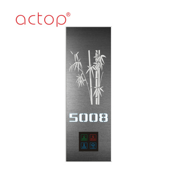 Illuminated Digital metal Hotel Door Plates
