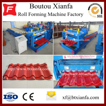 Galvanized Iron Roofing Sheets Tile Making Machine