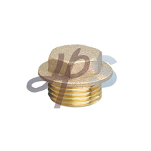Brass end cap H855