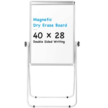 Double Sided Portable Magnetic White Board with U-Stand