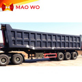 Popular 3 Axle 40ton Rear Dump Trailers
