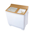 Gold Transparent Glass Cover 10KG Twin Tub Washing Machine