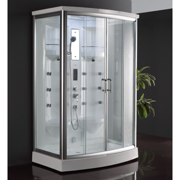 Free Standing Corner Tempered Glass Shower Enclosures