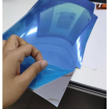 Metallized PET mirror effect film