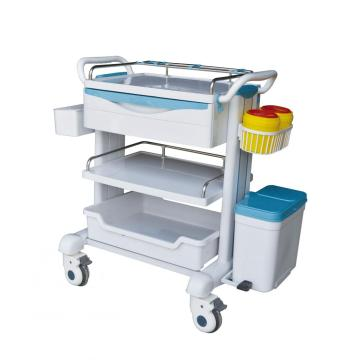 Streamline design medical treatment room trolley