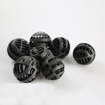 76mm Black PP Plastic Bio Balls Filter in Fish Tank Pool