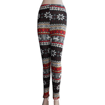 98% polyester 2% spandex lady's leggings