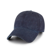 Blank Oil cotton baseball cap with washing