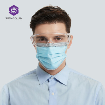 Wholesale Disposable 3Ply Non Woven Medical Face Mask