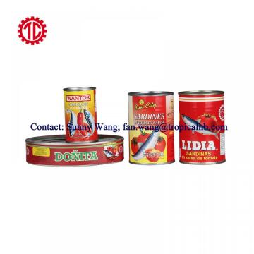 Customer Sizes And Packing Sardine Canned In Chili Hot