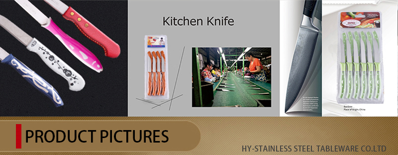 Novelty Design Stainless Steel Suits Knives